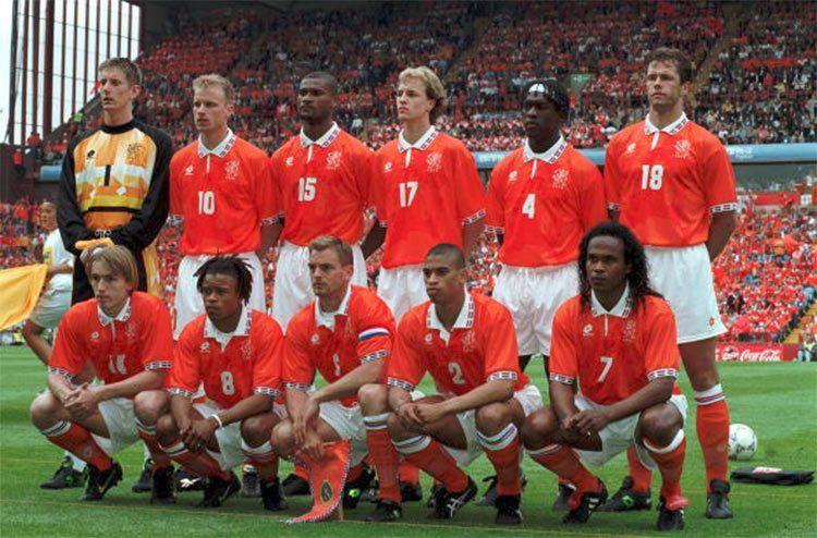 L'Olanda agli Europei del 1996