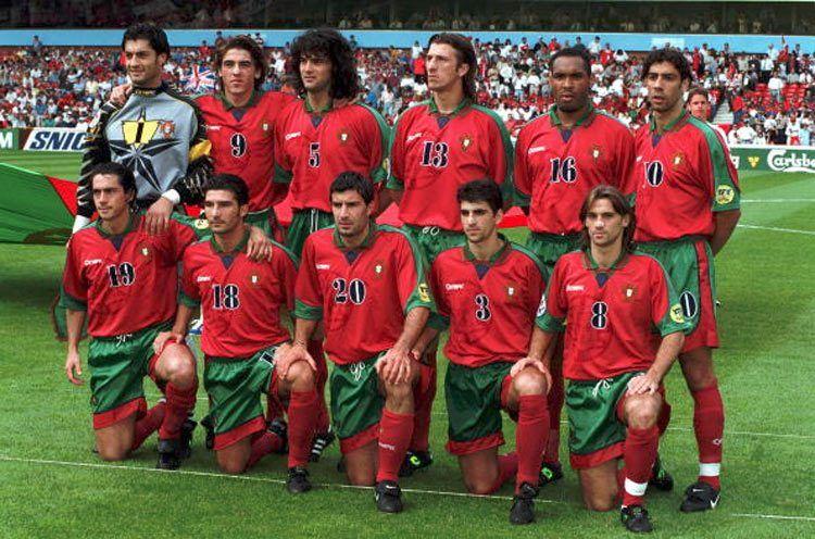 Formazione Portogallo Euro 1996
