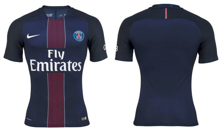 Maglia Paris Saint-Germain 2016-17