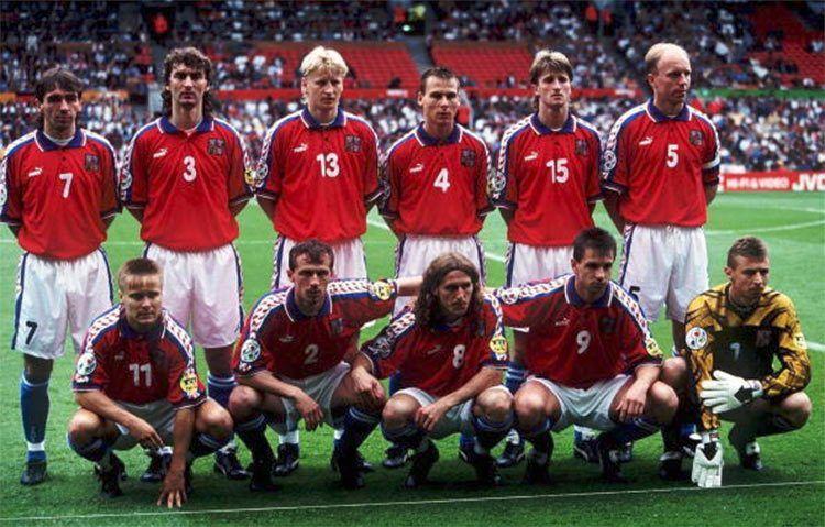 La formazione della Repubblica Ceca a Euro 1996