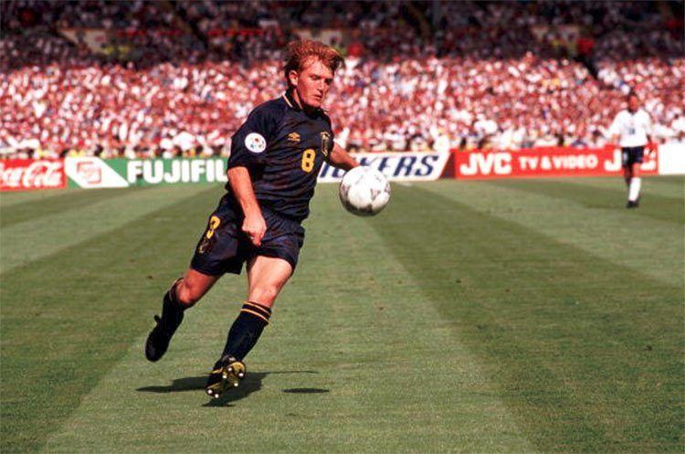 McCall in Scozia-Inghilterra 1996