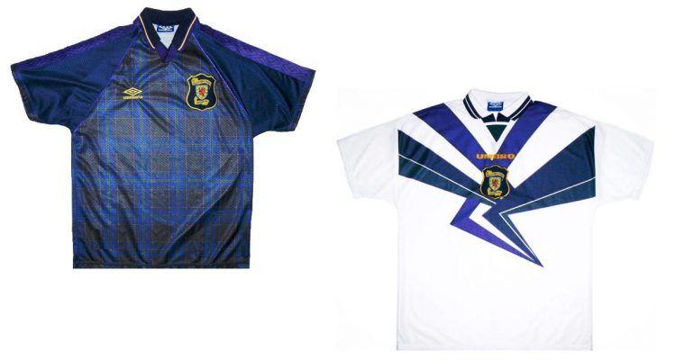 Maglie Scozia Euro 1996