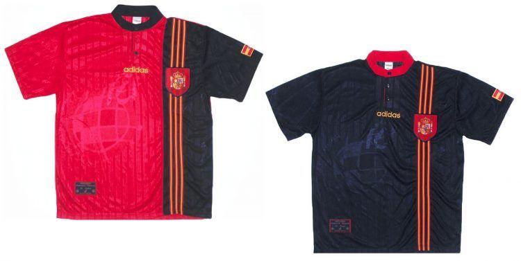 Maglie Spagna Europei 1996