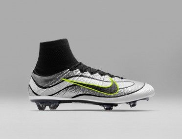 Mercurial Superfly Heritage Silver white