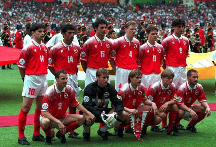 Svizzera Euro 1996