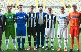 Presentazione kit Udinese 2016-17