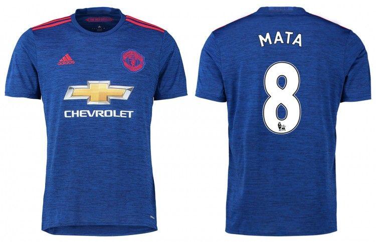 Seconda maglia Manchester United 2016-17 blu