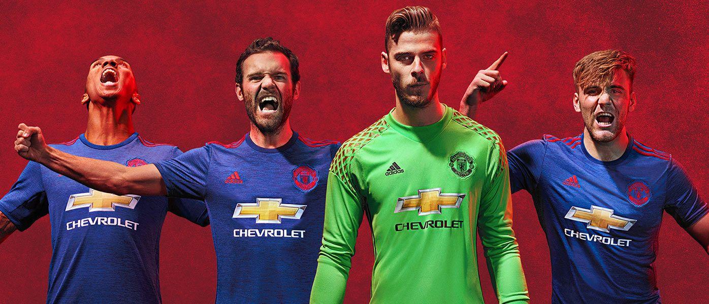 Kit Manchester United away 2016-17