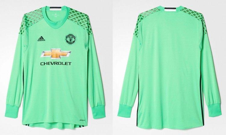 Maglia portiere Manchester United verde 2016-17