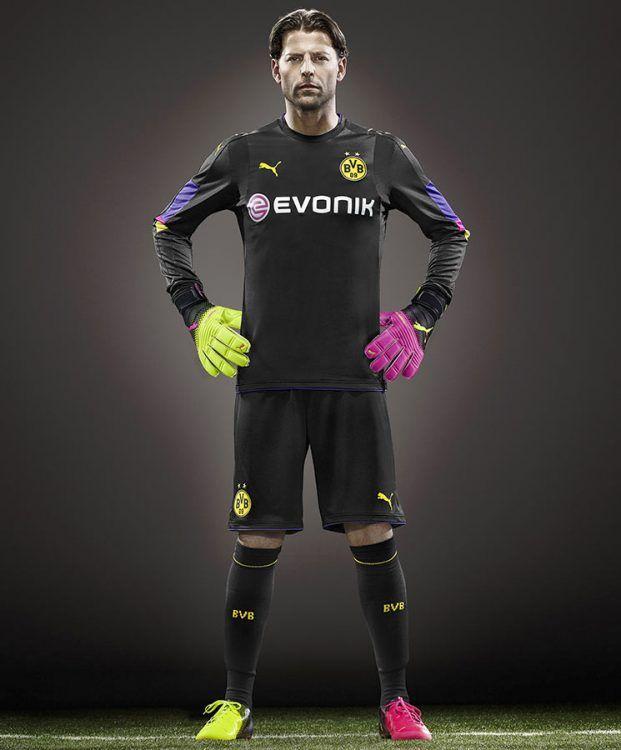 Weidenfeller, maglia portiere Borussia Dortmund 2016-17