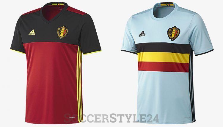 Belgio maglie Euro 2016 adidas