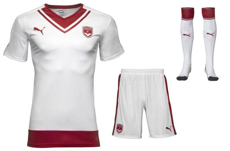 Seconda maglia Bordeaux 2016-17