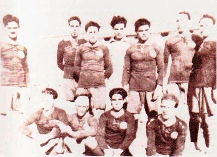 Formazione Cagliari nel 1921