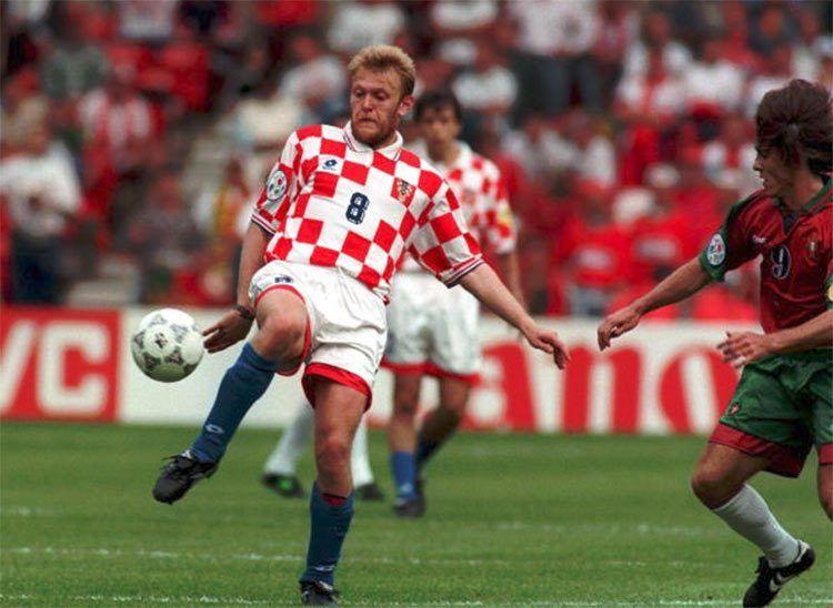 Prosinecki, maglia Croazia Euro 1996