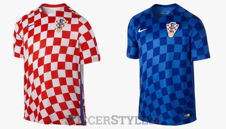 Maglie Croazia Europei 2016 Nike