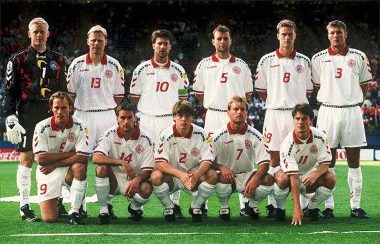 Danimarca kit away 1996