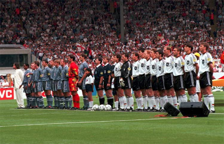 Germania-Inghilterra, semifinale 1996 Euro