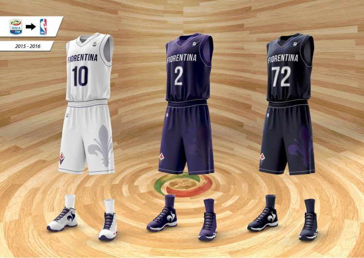 Fiorentina maglie basket NBA