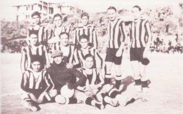 Cagliari 1926 maglia a righe nerazzurre