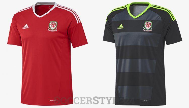 Galles maglie Euro 2016 adidas