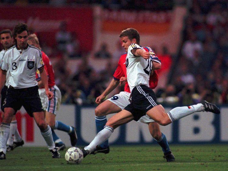 Il golden gol di Bierhoff, la Germania è campione d'Europa 1996