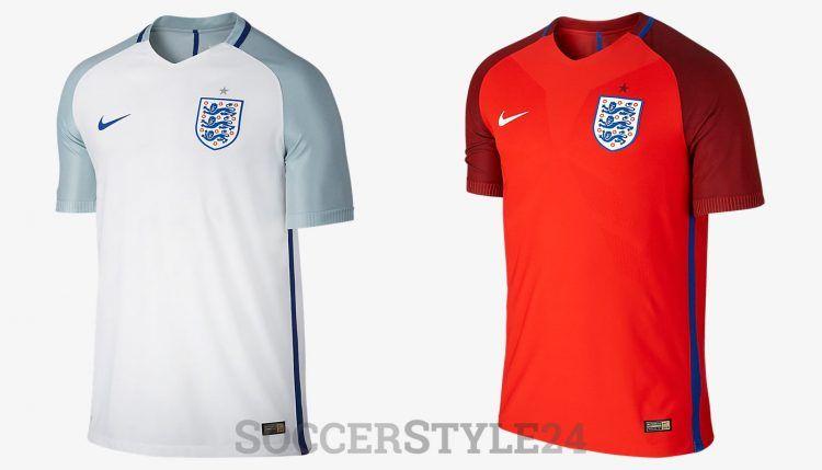 Maglie Inghilterra Europei 2016