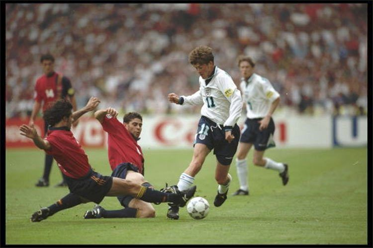 Inghilterra-Spagna Euro 1996