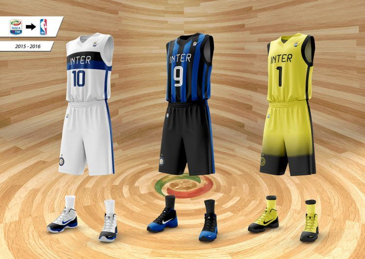Divise basket Inter 2015-16