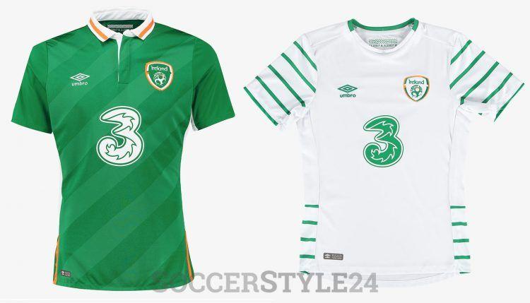 Maglie Irlanda Euro 2016 Umbro
