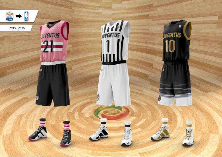 Maglie Juventus da basket NBA