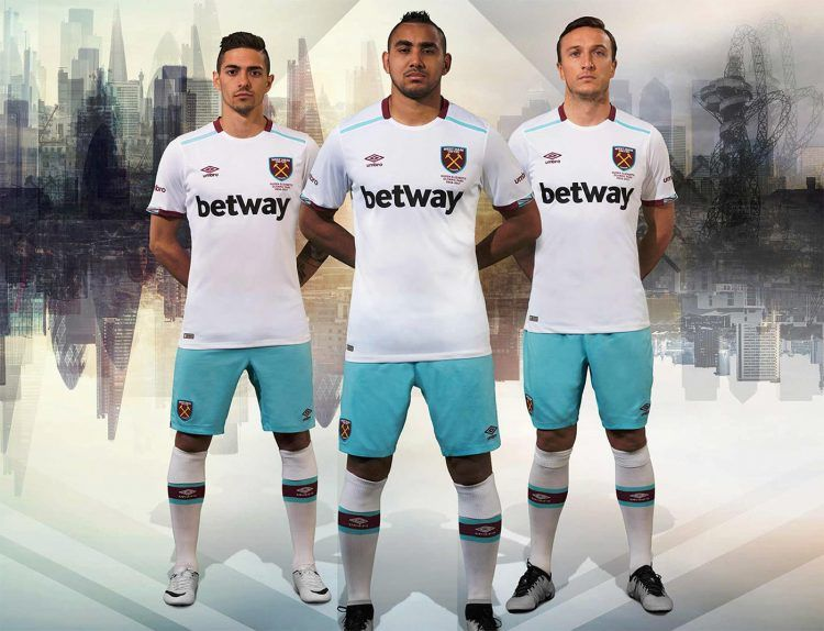 Divisa West Ham away 2016-17