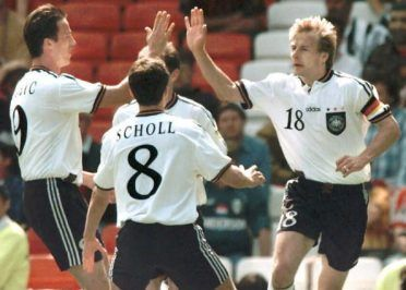 Klinsmann segna per la Germania