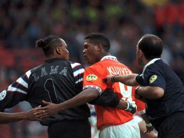 Lama e Kluivert, Euro 1996