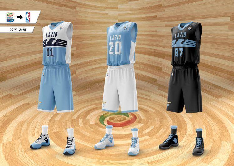 Maglie basket design Lazio