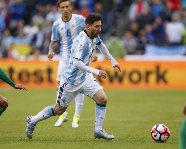 Leo Messi nella Copa America 2016