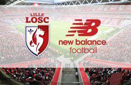New Balance sponsor tecnico Lille