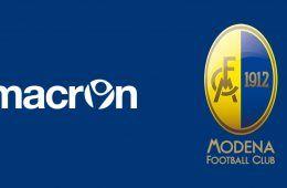 Macron sponsor tecnico Modena
