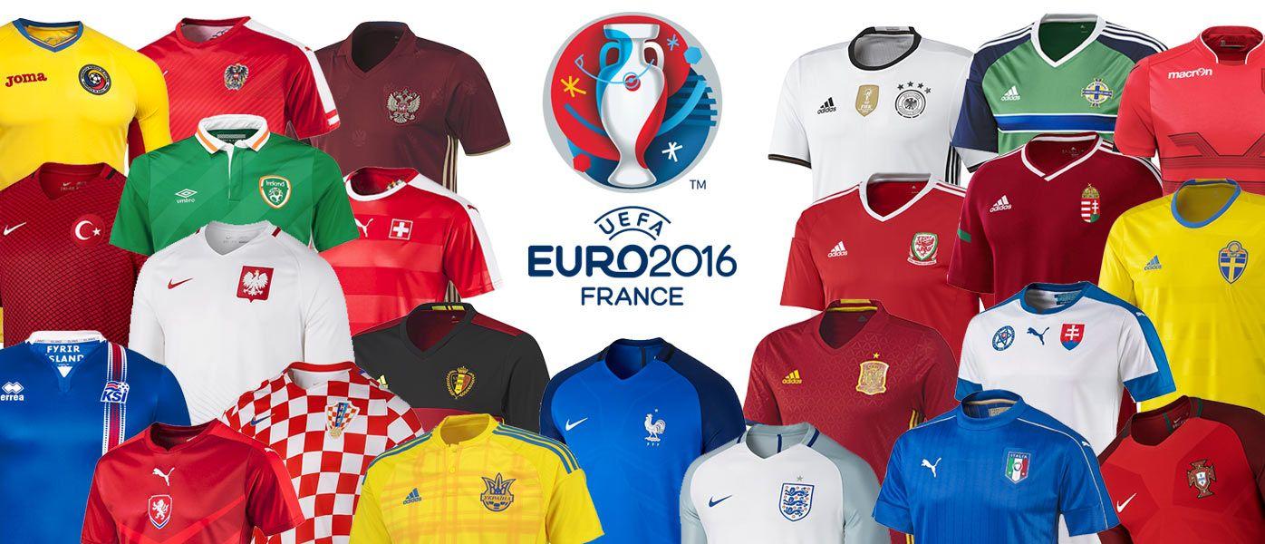 Maglie Europei 2016
