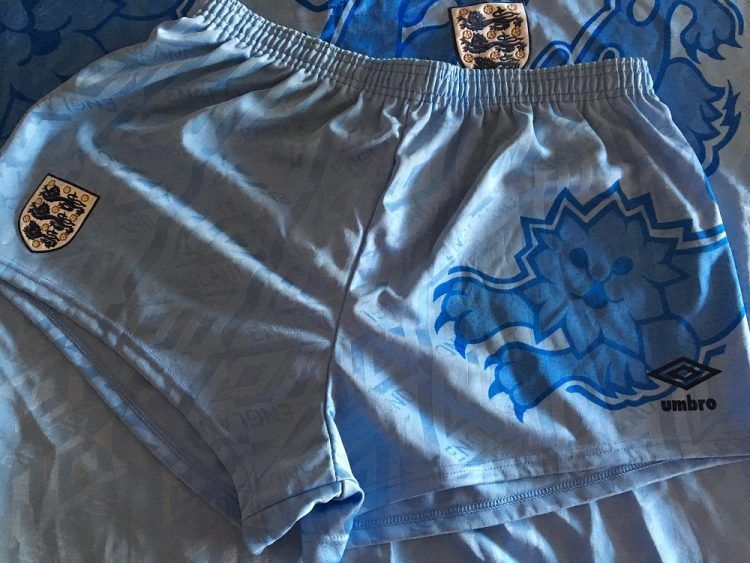 Pantaloncini terza divisa Inghilterra 1992-1993