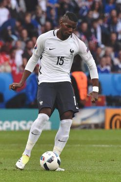 La maglia della Francia contro la Svizzera - Euro 2016