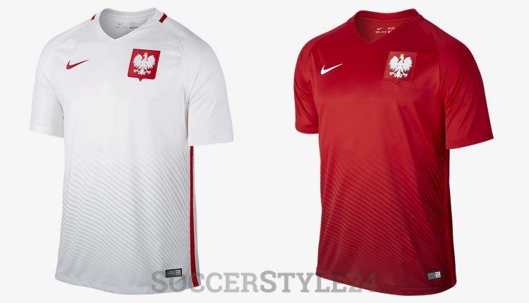 Polonia maglie Europei 2016 Nike
