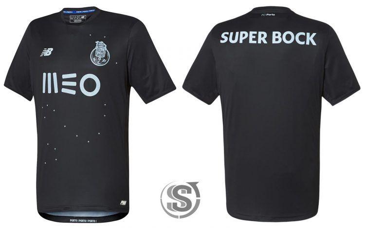 Seconda maglia Porto 2016-17