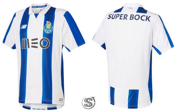 Maglia Porto 2016-2017 home