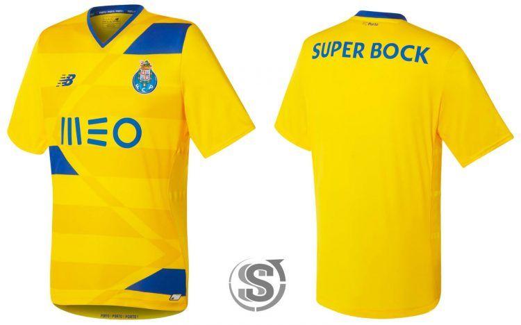 Terza maglia Porto 2016-2017 gialla
