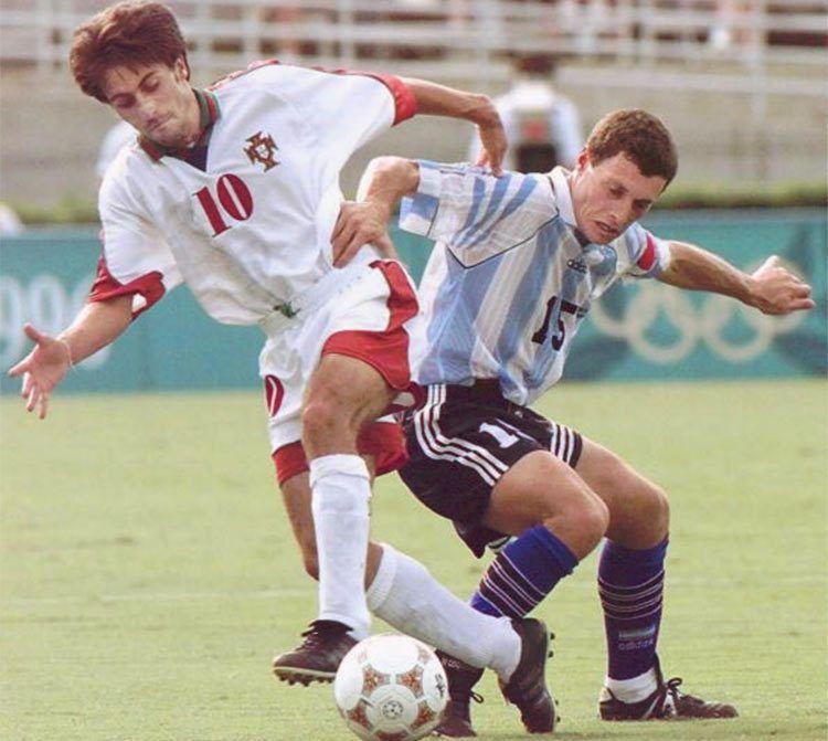 Seconda maglia Portogallo 1996 Olimpiadi