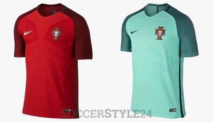 Maglie Portogallo Europei 2016 Nike