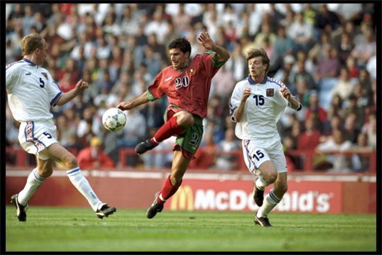 Euro 1996, Figo in Portogallo-Rep. Ceca