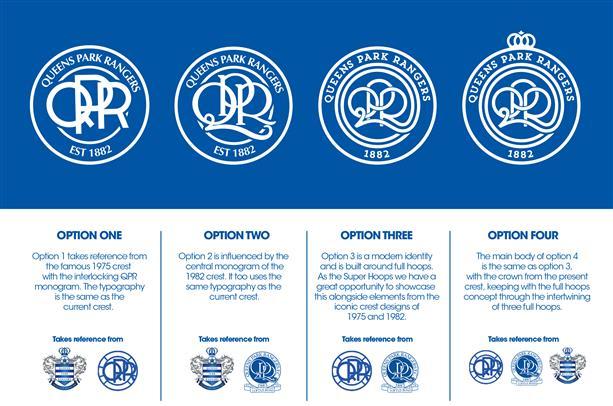QPR sondaggio nuovo stemma