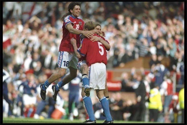 Euro 1996, la Repubblica Ceca supera la Francia