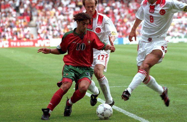 Rui Costa, Portogallo, Europei 1996
